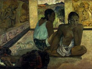 Gauguin: Te Rerioa, 1897 by Paul Gauguin