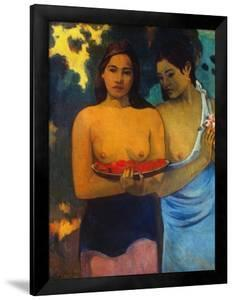 Gauguin: Two Women, 1899 by Paul Gauguin
