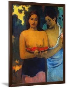 Gauguin: Two Women, 1899 by Paul Gauguin