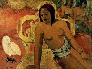Gauguin: Vairumati, 1897 by Paul Gauguin