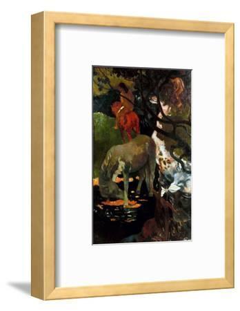 Gauguin: White Horse, 1898