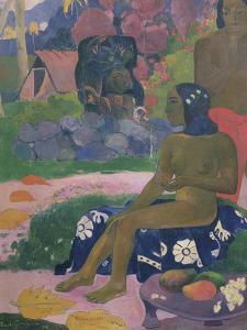 Her Name is Vairaumati by Paul Gauguin