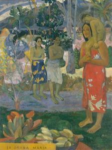 Ia Orana Maria (Hail Mary), 1891 by Paul Gauguin