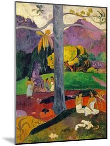 In Olden Times, Mata Mua, 1892 by Paul Gauguin