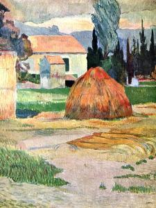 Landscape in Brittany, 1888 by Paul Gauguin