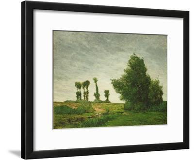 Landscape with Poplars, 1875