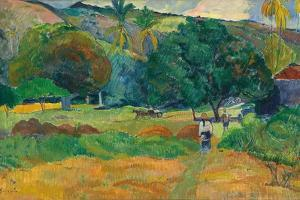 Le Vallon, 1892 by Paul Gauguin