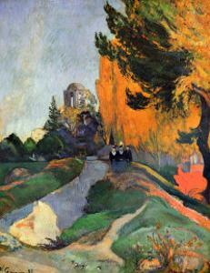 Les Alyscamps by Paul Gauguin