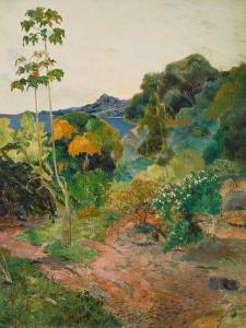 Martinique Landscape (Tropical Vegetation), 1887 by Paul Gauguin
