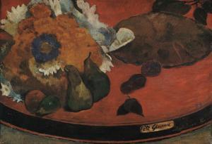 "Nature morte ""Fête Gloanec"" by Paul Gauguin"