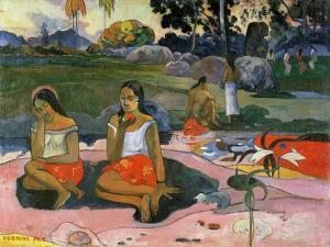 Nave Nave Moe (The Sacred Spring: Sweet Dreams, 1894 by Paul Gauguin