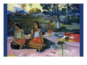 Nave Nave Moe by Paul Gauguin