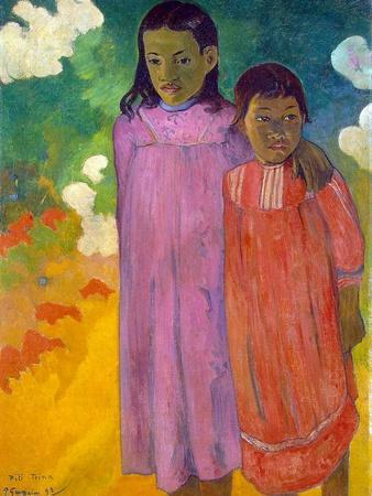 Piti Tiena, (Two Sister), 1892