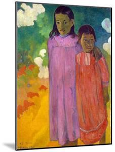 Piti Tiena, (Two Sister), 1892 by Paul Gauguin
