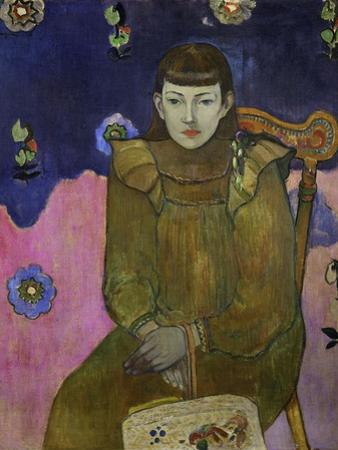 Portrait of Vaiite (Jeann) Goupil, 1896 by Paul Gauguin