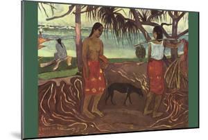 Raro Te Ouiri by Paul Gauguin