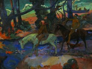 Riders by Paul Gauguin