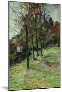 Road in Rouen, II, 1885 by Paul Gauguin