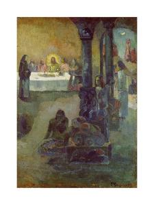 Scene of the Last Supper, 1897-99 by Paul Gauguin