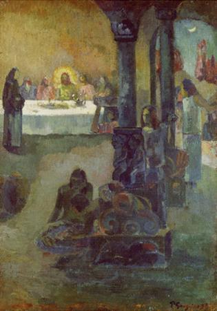 Scene of the Last Supper, 1897-99