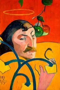 Self-Portrait by Paul Gauguin