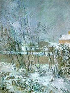 Snow in the Rue Carcel, 1883 by Paul Gauguin