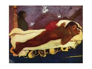 'Spirit of the Dead Watching', 1936 by Paul Gauguin