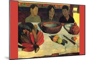 Still Life with Banana by Paul Gauguin
