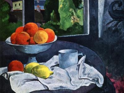Still Life with Fruit, Brittany, 19th Century