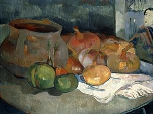 Still-Life with Gourds, 1889 by Paul Gauguin