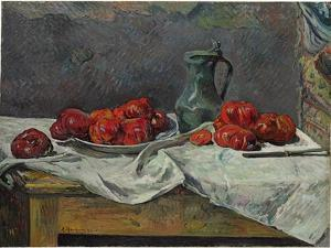 Still Life with Tomatoes, 1883 by Paul Gauguin