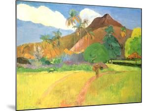 Tahitian Landscape, 1891 by Paul Gauguin