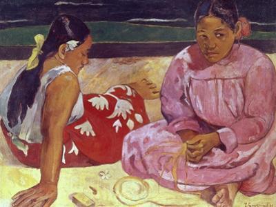 Tahitian Women (On the Beach) by Paul Gauguin