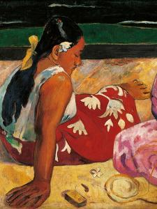 Tahitian Women by Paul Gauguin