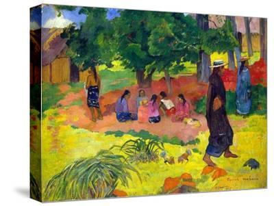 Taperaa Mahana, (Late Afternoo), 1892