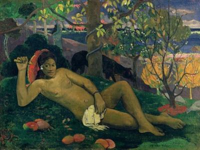 Te Arii Vahine (The King's Wife), 1896 by Paul Gauguin