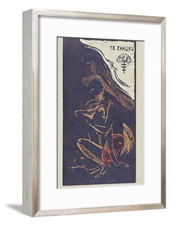 Te Faruru (Here We Make Lov) from the Series Noa Noa, 1893-1894