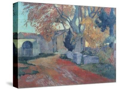 The Alyscamps in Arles