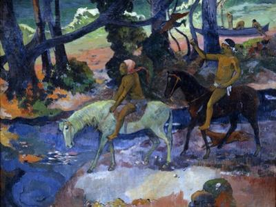 The Ford (The Fligh), 1901 by Paul Gauguin