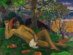 The King's Wife (Te Arii Vahine), 1896 by Paul Gauguin