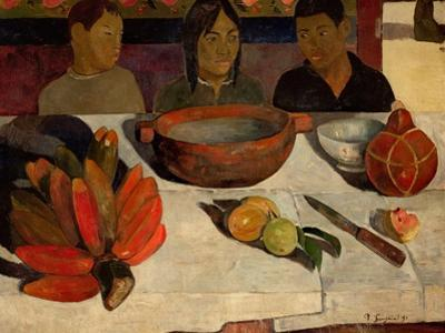 The Meal, Bananas, 1891 by Paul Gauguin