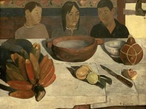 The Meal (The Bananas), 1891 by Paul Gauguin