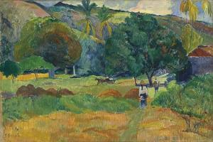 The Valley (Le Vallo), 1892 by Paul Gauguin