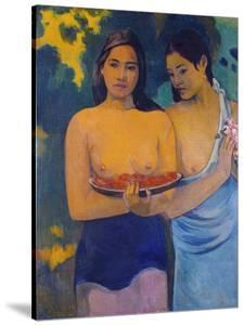 Two Woman from Tahiti, 1899 by Paul Gauguin