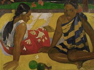 Two Women from Tahiti, 1892 by Paul Gauguin
