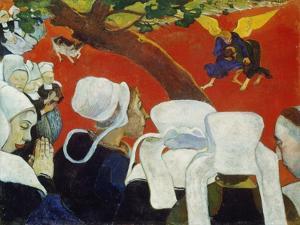 Vision Nach Der Predigt, 1888 by Paul Gauguin