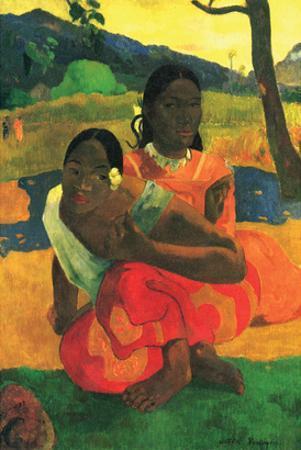 When You Hear by Paul Gauguin