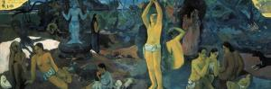 Where Do We Come From? Where are We? Where are We Going? by Paul Gauguin