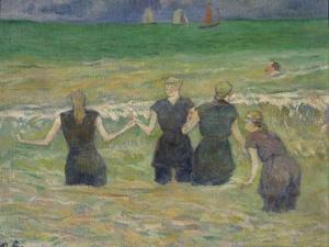 Women Bathing by Paul Gauguin