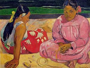 Women of Tahiti, on the Beach, 1891 by Paul Gauguin